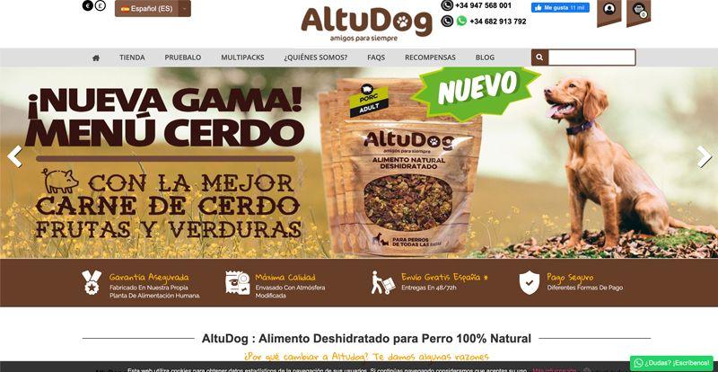 Tienda comida para perro AltuDog
