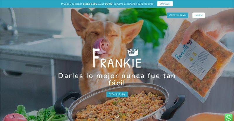Tienda comida para perro Frankie