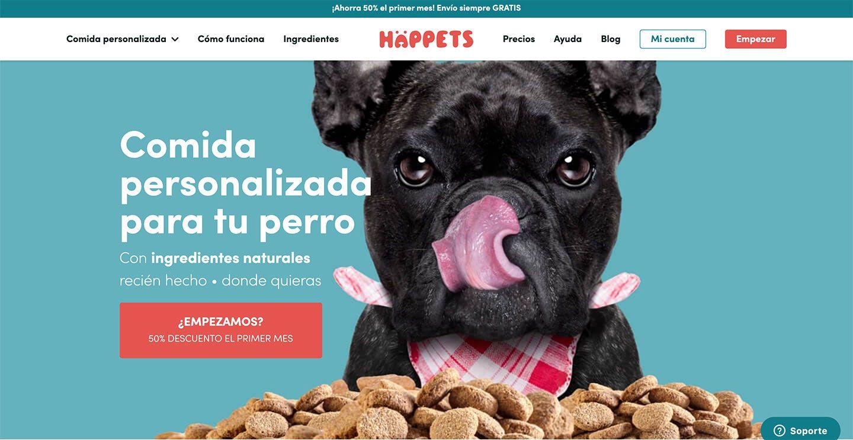 Web de Happets